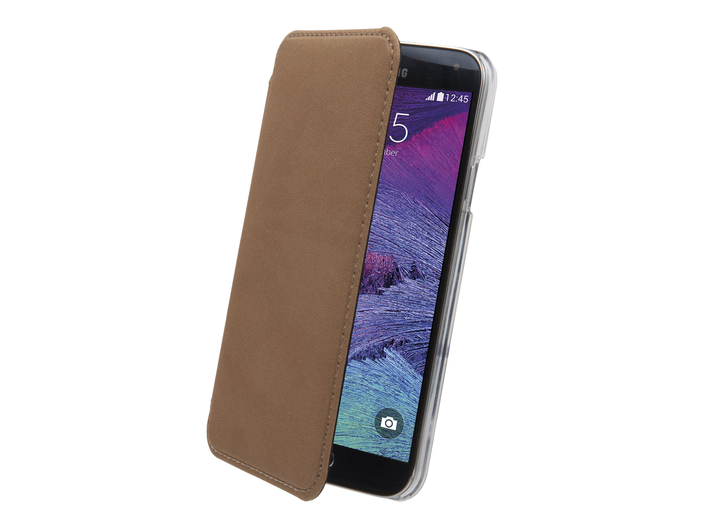 Muvit Made in Paris Crystal Folio - Protection à rabat pour Samsung GALAXY Note 4 - bronze