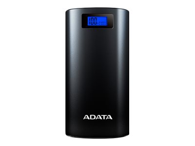 ADATA P20000D Power bank 20000 mAh 2.1 A 2 output connectors (USB) black