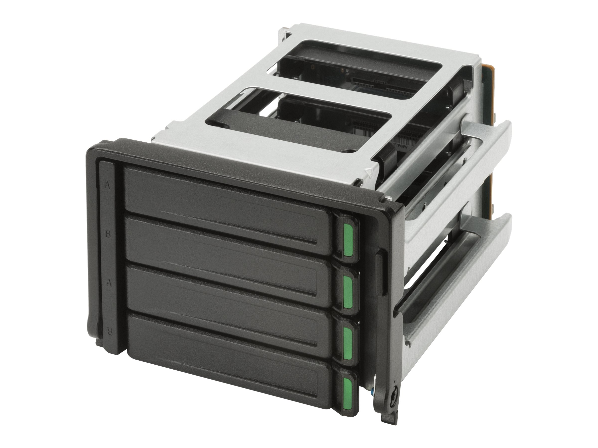 HP High Density 4 Bay Storage Kit - Speichereinschubadapter - 2 x 3,5