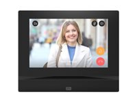 2N Indoor View Control panel with touch screen wired 10/100 Ethernet black