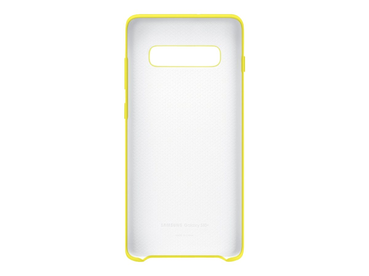 Samsung Silicone Cover EF-PG975 - back cover for cell phone
