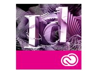 Adobe InDesign CC for teams - Team-Lizenzabonnement, neu (monatlich)