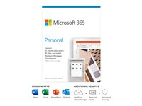 Microsoft 365 Personal Bokspakke 1 år 1 person Android iOS Windows MacOS