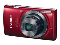 Canon PowerShot ELPH 160 Digital camera compact 20.0 MP 720p 8x optical zoom red image