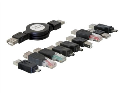 DeLOCK USB adapter kit - USB-adaptersæt