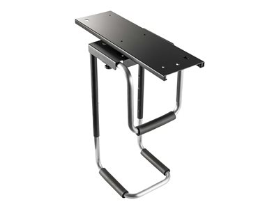 Tripp Lite Under-Desk CPU Mount for Computer Towers - Width and Height Adjustable, 180-Degree Swivel, Black