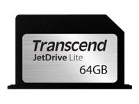 Transcend JetDrive Lite 330 - Flash-Speicherkarte - 64 GB - für Apple MacBook Pro mit Retina display (13.3 Zoll)