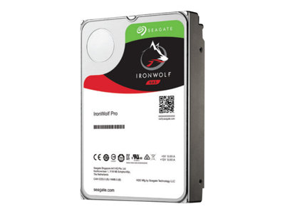 Seagate IronWolf Pro ST8000NE0004 Hard drive 8 TB internal 3.5INCH SATA 6Gb/s 7200 rpm
