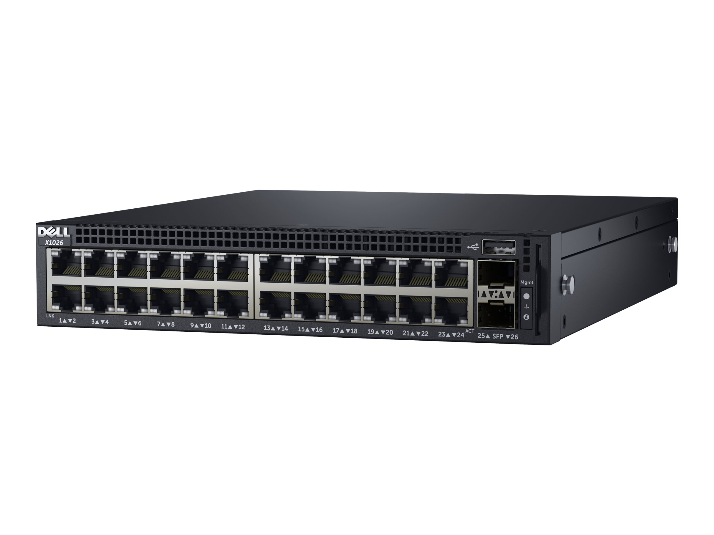 Dell EMC Networking X1026 - switch - 24 ports - managed - rack-mountable