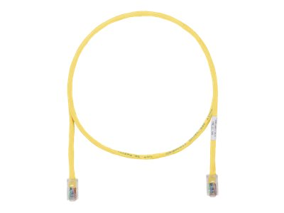 Panduit TX5e patch cable - 6.4 m - yellow