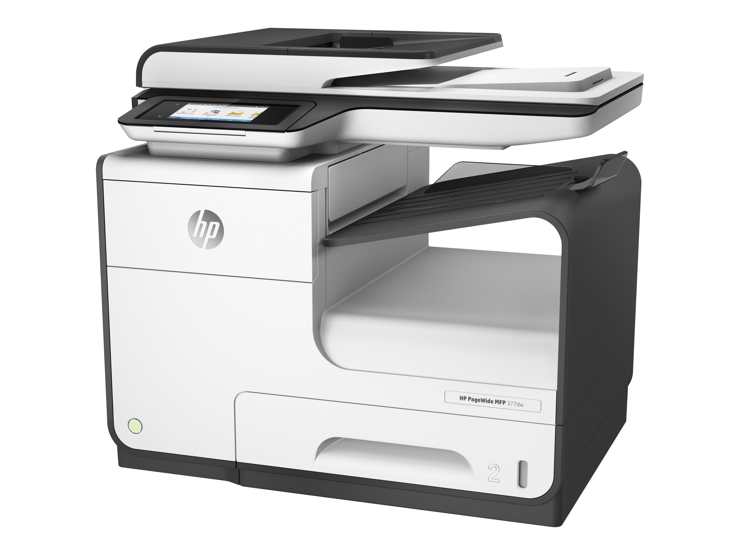 HP PageWide MFP 377dw - Multifunktionsdrucker - Farbe - Tintenstrahl - Legal (216 x 356 mm) (Original) - A4/Legal (Medien)