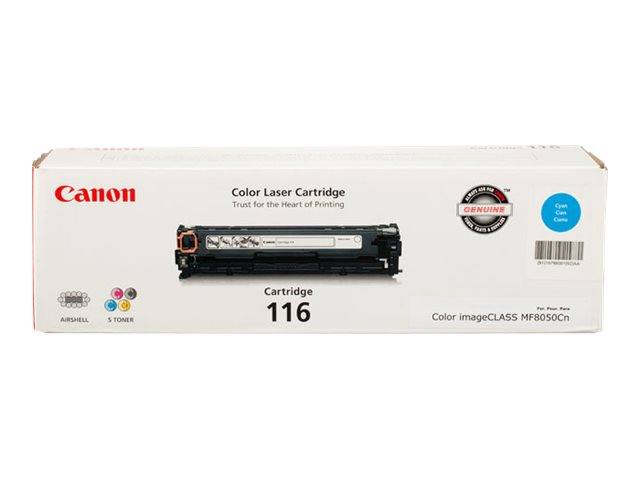 Canon Cartridge 116 - cyan - original - toner cartridge
