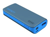 Cygnett ChargeUp 4400 Power bank 4400 mAh 1 A (USB) gray with blue trim