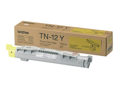 Brother TN12Y Yellow original toner cartridge for Brother HL-4200CN