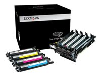 Lexmark Black & Colour Imaging Kit - Noir, couleur