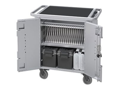 Bretford PureCharge Cart 20 HGFN2 Cart (charge only) for 20 tablets steel pla
