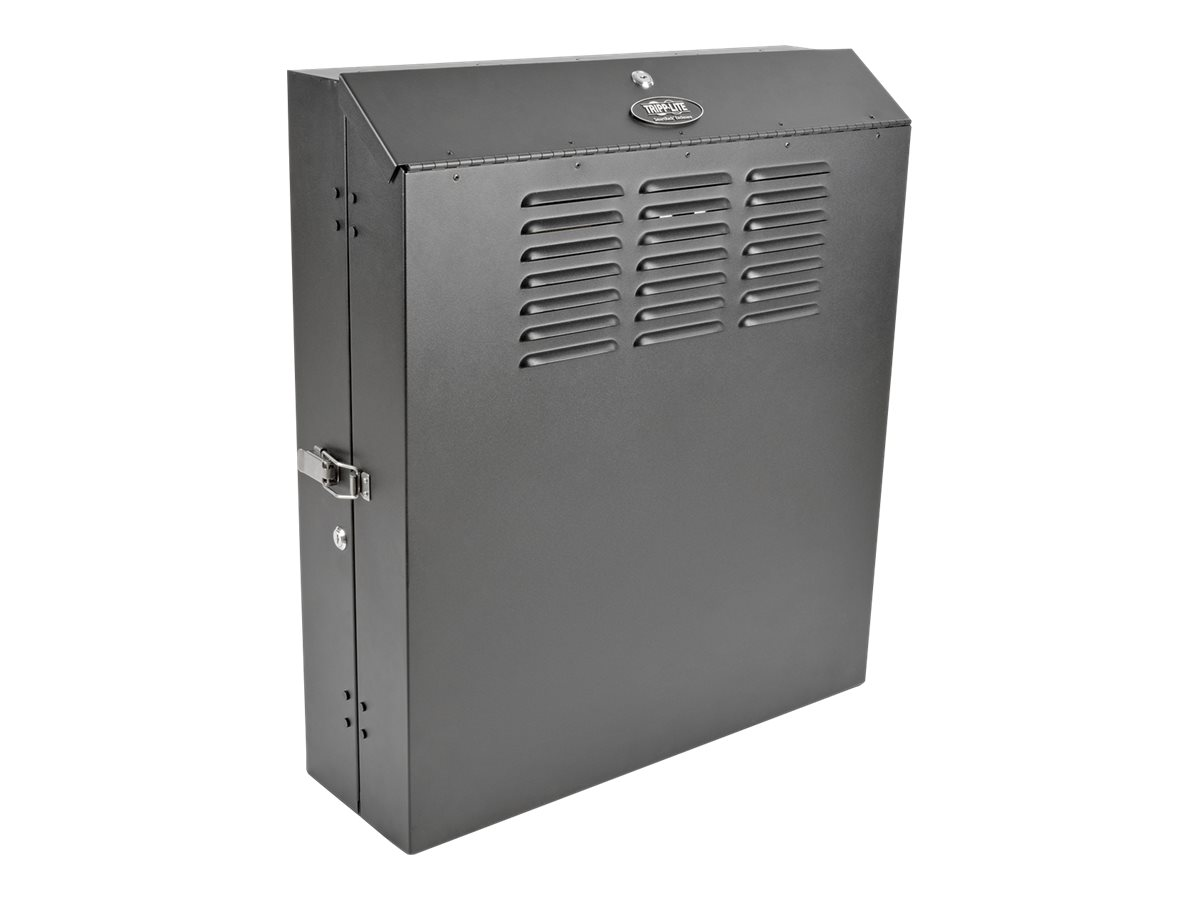 Tripp Lite 6U Wall Mount Low Profile Secure Rack Enclosure Cabinet Vertical rack - 6U
