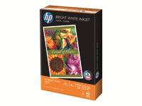 HP Bright White - Plain paper - bright white - A4 (210 x 297 mm) - 90 g/m2 - 500 sheet(s) - for Deskjet 2050 J510, 3050 J610; Envy 100 D410, 11X D411; PageWide MFP 377; PageWide Pro 452