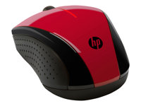 HP, X3000 Red BS Wireless Mouse