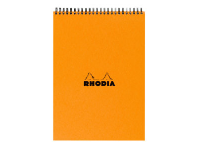 Blocs & Porte blocs RHODIA CLASSIC SMALL OFFICE - Bloc notes - A4 -  80 pages - quadrillé - 5x5 - spirales