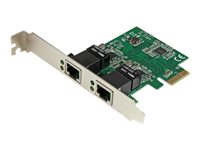 StarTech.com Dual Port Gigabit PCI Express Server Network Adapter Card - 1 Gbps PCIe NIC