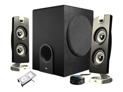 Cyber Acoustics CA-3602 - speaker system - for PC