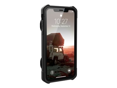 Rugged Card Case for iPhone XR [6.1-inch screen] - Trooper Black