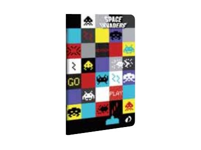 Quo Vadis Space Invaders - Cahier - 7,5 x 12 - 48 pages - Ligne