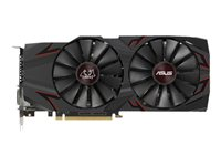ASUS CERBERUS-GTX1070TI-A8G - Advanced Edition - carte graphique - GF GTX 1070 Ti - 8 Go GDDR5 - PCIe 3.0 x16 - DVI, 2 x HDMI, 2 x DisplayPort