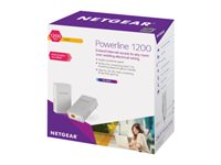NETGEAR Powerline PL1200 Bridge GigE, HomePlug AV (HPAV) 2.0 wall-pluggable