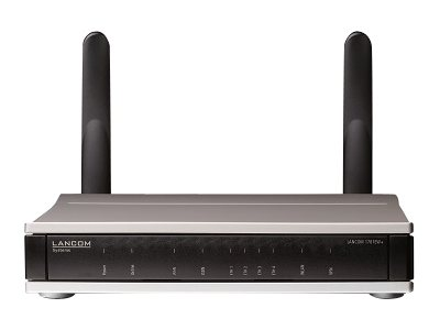 LANCOM 1781EW+ - Wireless Router - ISDN - 4-Port-Switch - GigE, HDLC, PPP - WAN-Ports: 2