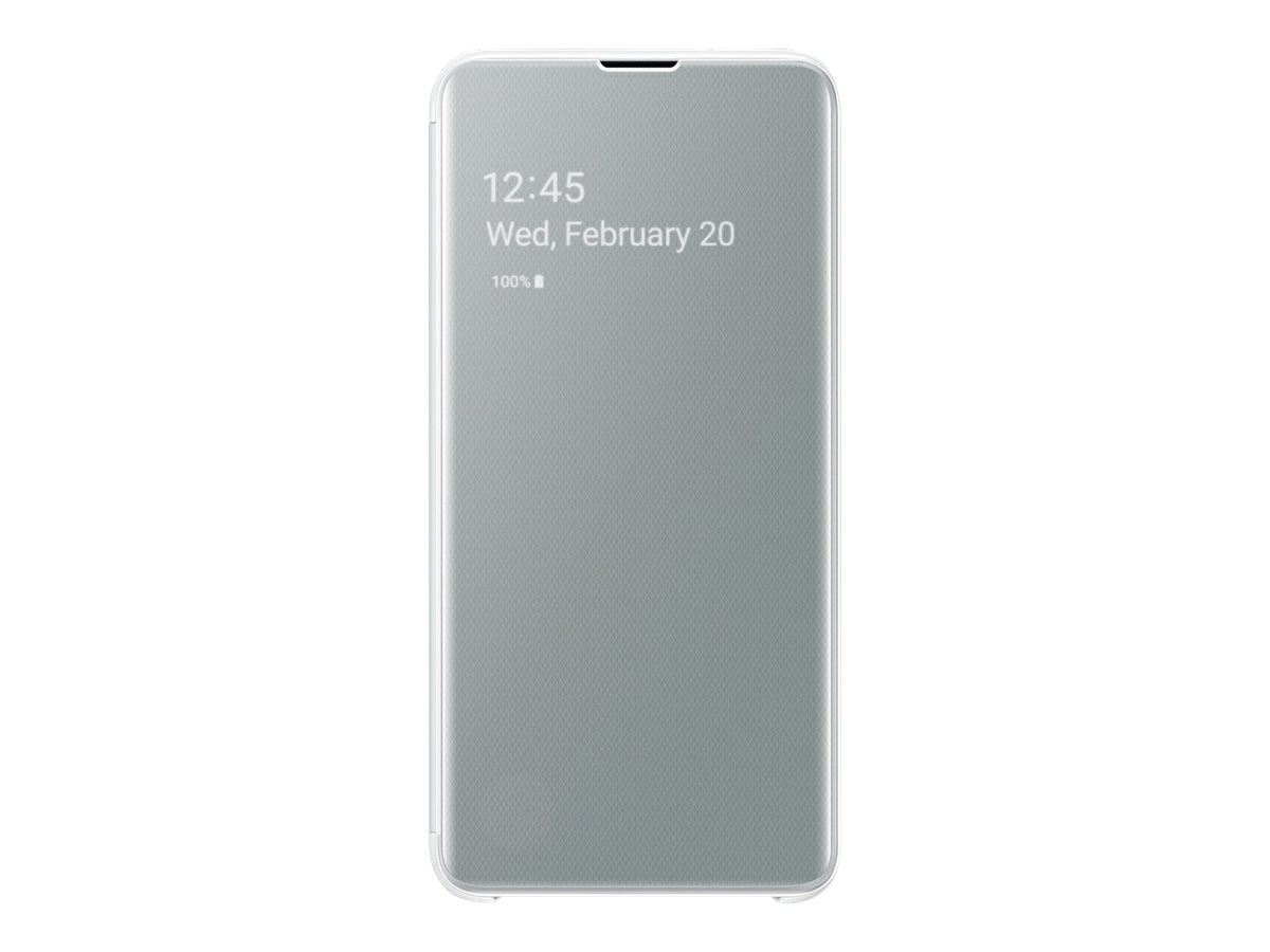 Samsung S-View Flip Cover EF-ZG970 - flip cover for cell phone