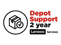 Lenovo Depot - Extended service agreement - parts and labor - 2 years (School Year Term) - for 100e Chromebook (2nd Gen) MTK; 14; 14e Chromebook; 500e Chromebook (2nd Gen)