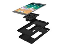 Incipio CAPTURE Back cover for tablet rugged polymer, Plextonium black