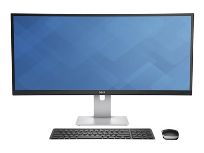 Dell UltraSharp U3415W LED monitor curved 34INCH (34INCH viewable) 3440 x 1440 @ 60 Hz IPS