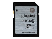 Mem Flash SDHC/SDXC 64Gb KIN CL 10 SD10VG2/64GB