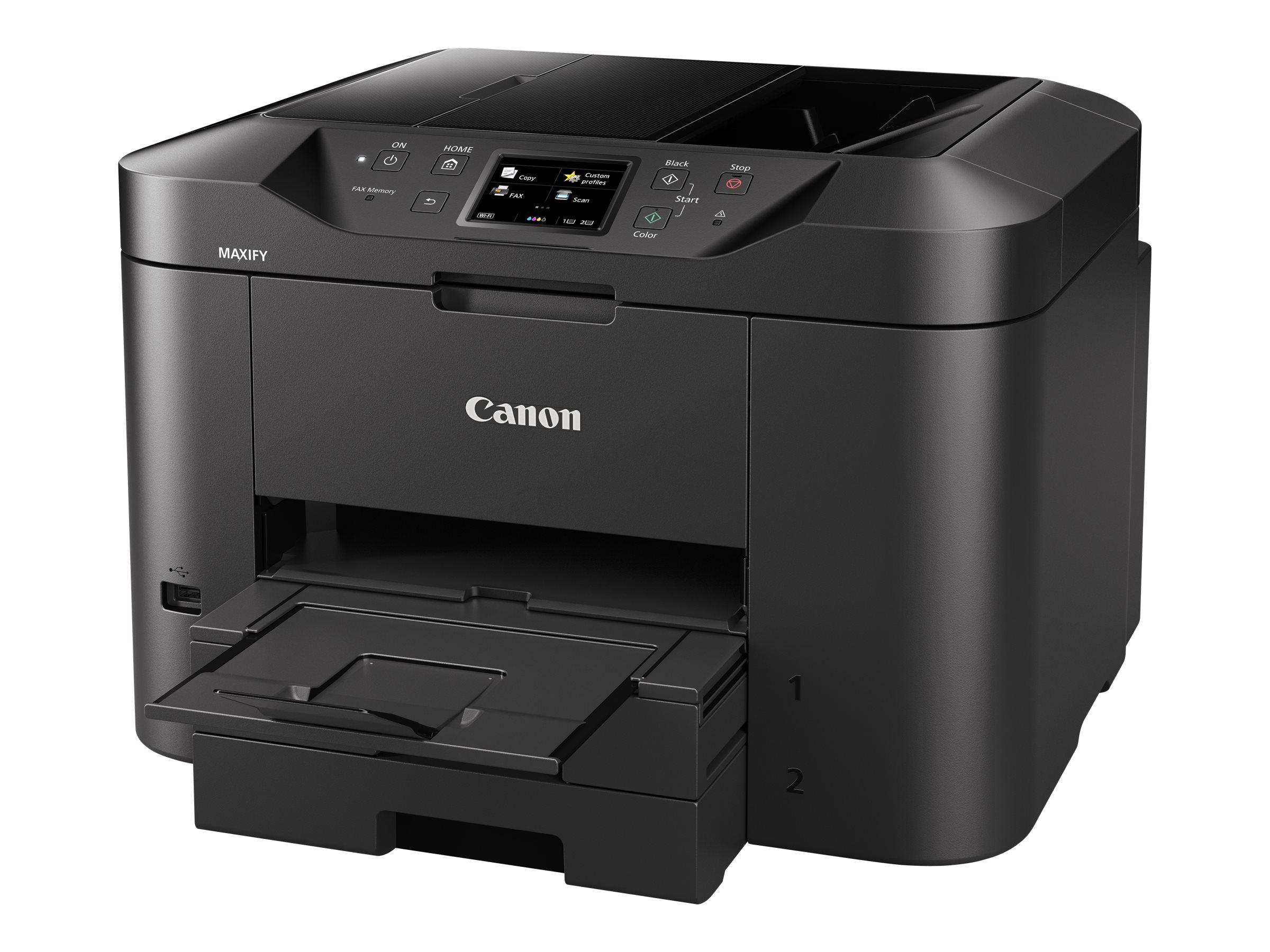 Canon MAXIFY MB2755 - Multifunktionsdrucker - Farbe - Tintenstrahl - A4 (210 x 297 mm), Legal (216 x 356 mm) (Original) - A4/Legal (Medien)
