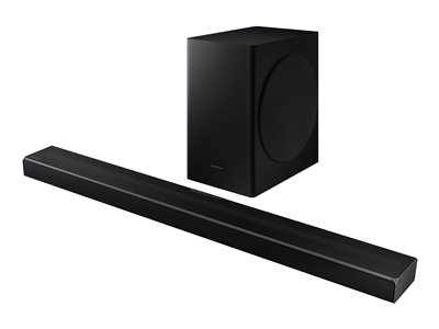 Samsung HW-Q60T - sound bar system - for home theater - wireless