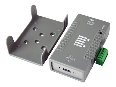 USB 3.1 (Gen1/2) Type-C to Type-A adapter with USB Power Delivery (PD)