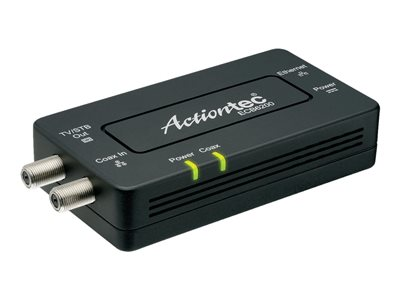 Actiontec Bonded MoCA 2.0 Network Adapter ECB6200 Media converter GigE, MoCA 2.0