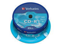 Verbatim CD-R Extra Protection - 25 x CD-R