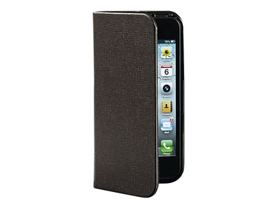 Verbatim Folio Pocket - Case for cell phone - mocha brown - for Apple iPhone 5, 5s