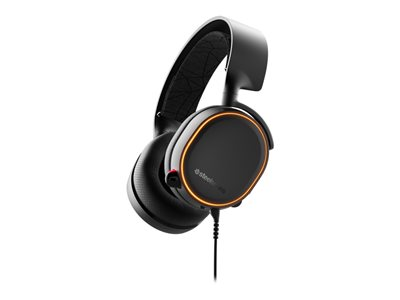 SteelSeries Arctis 5 Kabling Sort Headset