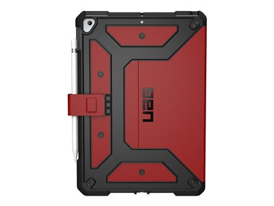 "UAG Rugged Case for iPad 10.2-inch (7th Gen, 2019) - Metropolis Magma - Back cover for tablet - magma - 10.2"" - for Apple 10.2-inch iPad (7th generation)"