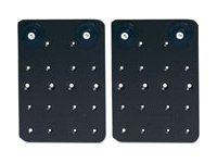APC Rack mounting plate black (pack of 2)