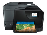 HP Officejet Pro 8710 All-in-One - Multifunction printer - colour - ink-jet - Legal (216 x 356 mm) (original) - A4/Legal (media) - up to 30 ppm (copying) - up to 35 ppm (printing) - 250 sheets - USB 2.0, LAN, Wi-Fi(n), USB host