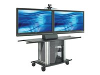 AVTEQ GMX Series GMX-250L Cart for video conferencing system steel scree