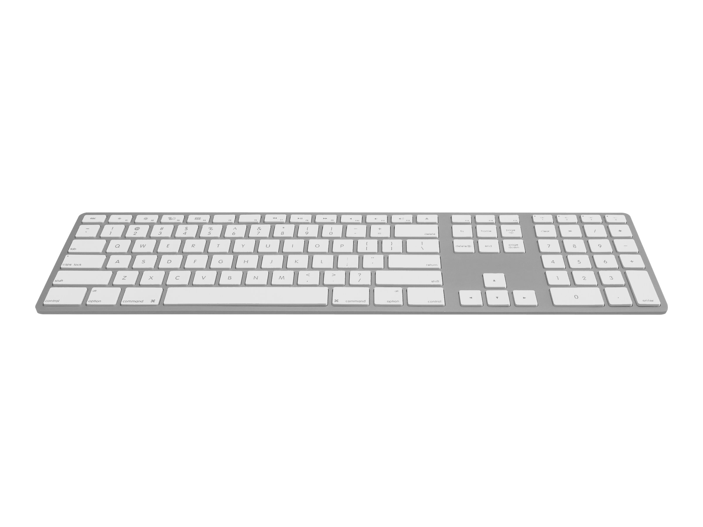 Jenimage - Tastatur - Bluetooth - Deutsch - Silber