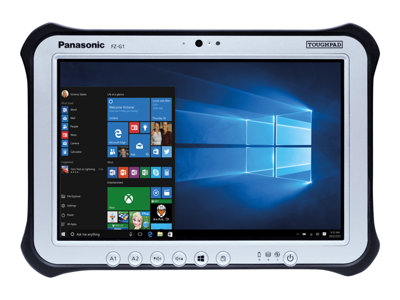 Panasonic Toughpad FZ-G1 Tablet Core i5 7300U / 2.6 GHz Win 10 Pro 64-bit 8 GB RAM