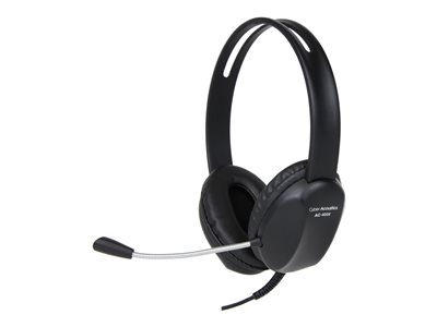 Cyber Acoustics AC 4006 Headset on-ear wired USB